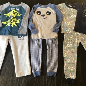 Bundle of Boys Pajamas
